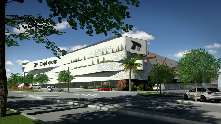 Clapé inicia la construcción de una plataforma logística de 20.000 m2 en Santa Perpetua