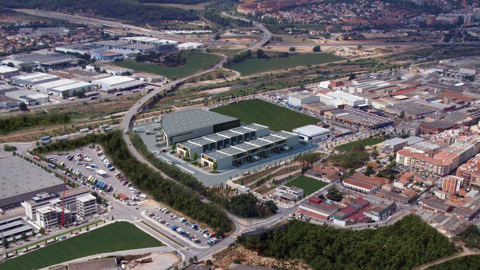 Clapé inicia la construcción del parque industrial y logístico Ripollet Park